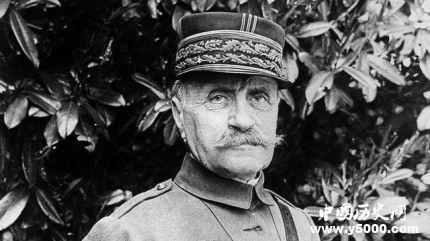 法国元帅福煦生平经历简介如何评价福煦?