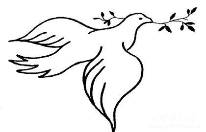 和平鸽的由来_和平鸽的寓意_96KaiFa