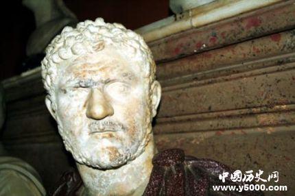 罗马皇帝卡拉卡拉生平经历卡拉卡拉是怎么死的?